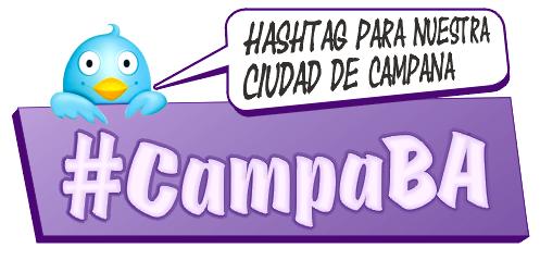 HashTag para nuestra ciudad de Campana #CampaBA