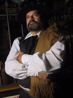 El Gaucho Fernández personificando a Juan Moreira